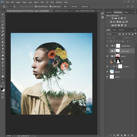 tutorial edit double exposure tutorial how to create a double exposure portrait with