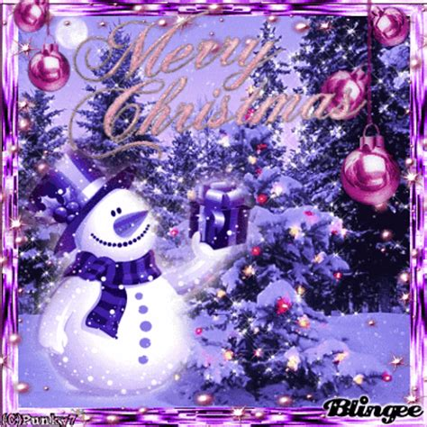 purple pink christmas picture 119608872 blingee com