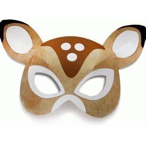 printable deer mask silhouette design store view design 71836 3d deer mask