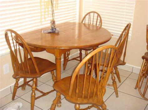 Beautiful Solid Birch Buffet Hutch Dining Table And Six Birch Dining Table And Chairs
