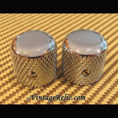 Custom Telecaster Knobs by Domed Knobs 50s For Fender Tele Nocaster New Vintage Relicguitar Relic Ing Aging Aged