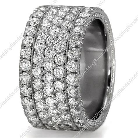 thick wedding ring with diamonds wedding ideassss