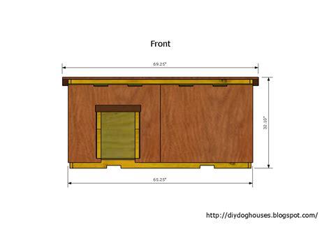 2 dog house plans dog house plans