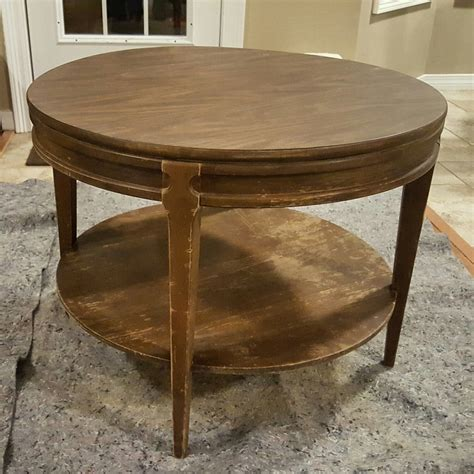 vintage mersman coffee table that gumbo