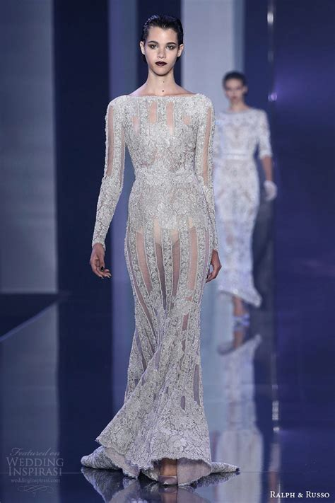 couture embellished denim trend 2015 ralph russo fall winter 2014 2015 haute couture