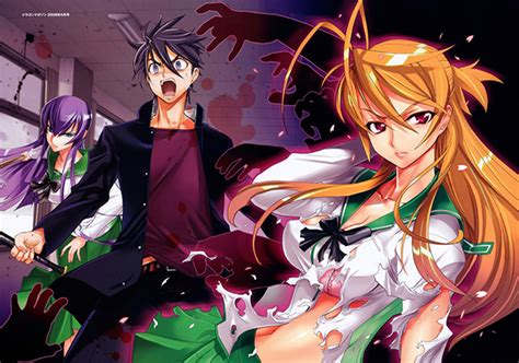 anime high school of the dead d 233 c 232 s de l auteur daisuke satou highschool of the dead