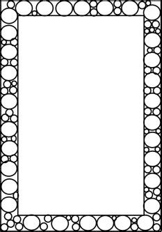 coloring page borders border coloring pages clipart best