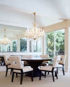 The Circular Dining Room Dining Table Room Traditional With Doors
