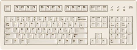 clip on laptop keyboard light free keyboard clipart 1 page of public domain clip art