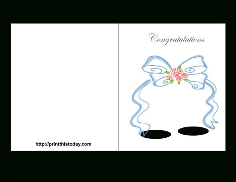 congratulations card template printable congratulations card postrendy