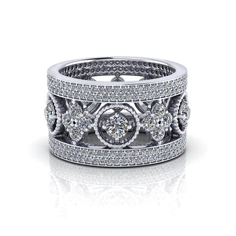 Eternity Band by Wide Eternity Band Jewelry Designs