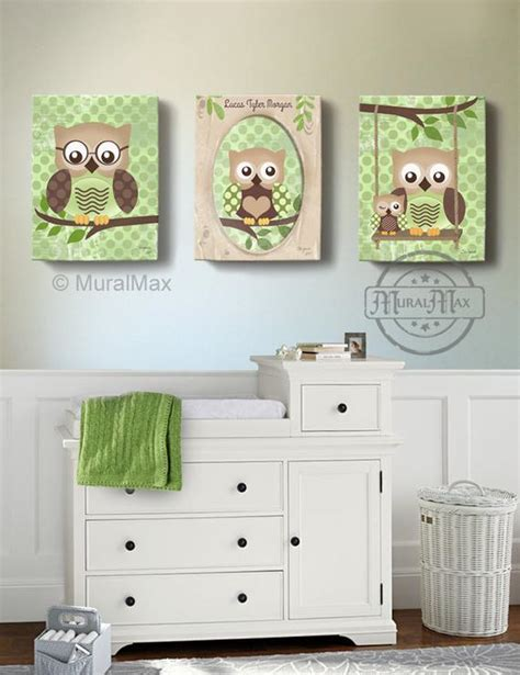 owl owl decor for children owls nursery