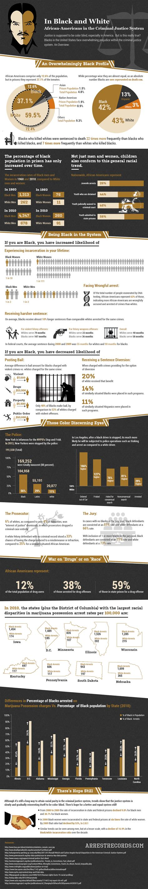 What Percent Of America Has A Criminal Record Prisons Much More Likely To Hold Minorities