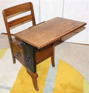 How Much Is An School Desk Worth by Antique School Desk With Drawer By Moulthrop Early 1900 S
