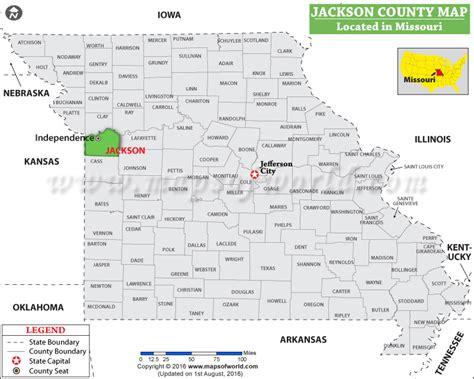 jackson usa maps jackson county map missouri