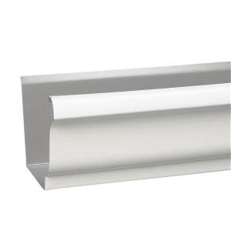 K Style Galvanized Gutters - amerimax home products 5 in x 10 ft galvanized steel k