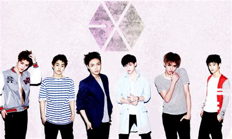 wallpaper boy band exo exo exo m photo 32297122 fanpop