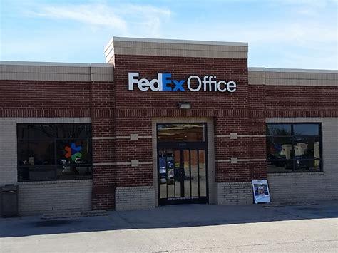 fedex office print ship center edmond oklahoma ok
