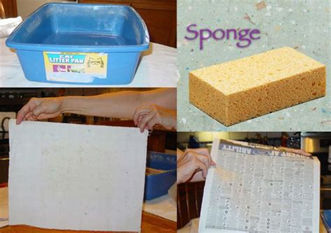 How To Make Paper From Recycled Materials - how to make paper from recycled materials green diary