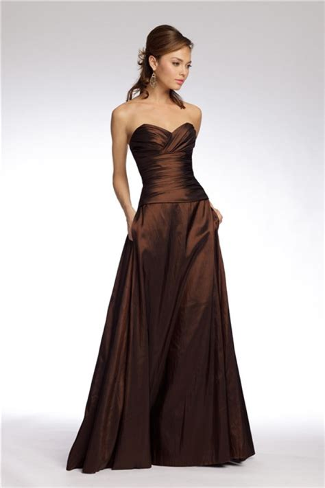Brown Bridal by Brown Strapless Bridesmaid Dresses Bridesmaid Dresses
