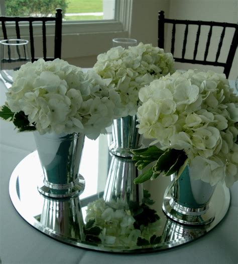 White Wedding Vases by Classic Elegance At Phillippi Estate Mansion Flowers By