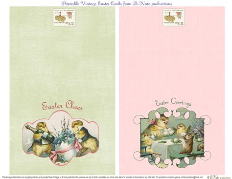 printable easter birthday cards bnute productions free printable vintage easter folded cards