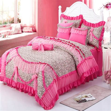 cute bed sets for girls free shipping 100 cotton cute girls bedding set korean