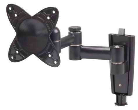 tv swing arm wall mount television hangers on sale rca maf40bk single swing arm
