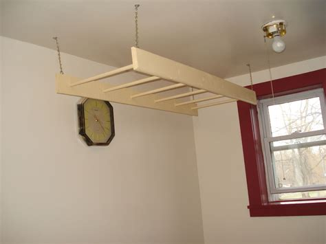 Hanging Laundry Rack by How To Make A Inside Hanging Clothes Rack Clothes Racks