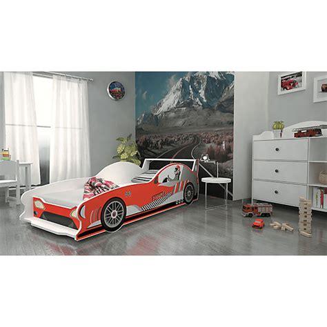matratze 80 x 160 autobett formula inkl lattenrost und matratze rot 80 x