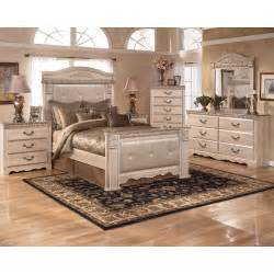 Ashley Bedroom Furniture Silverglade Mansion Bedroom Set Signature Design By Ashley