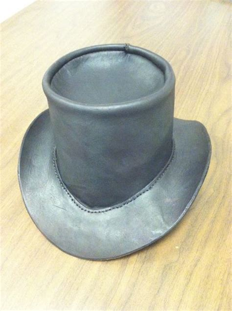 How To Make A Top Hat Out Of Paper - leatherworking