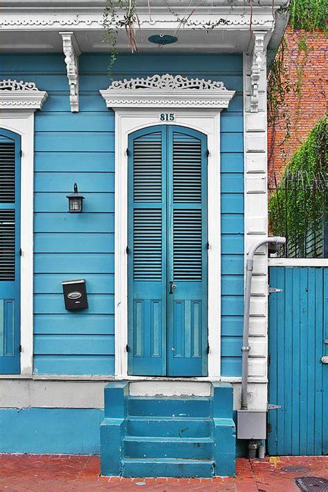 New Orleans Doors by New Orleans Front Door Photograph By Christine Till