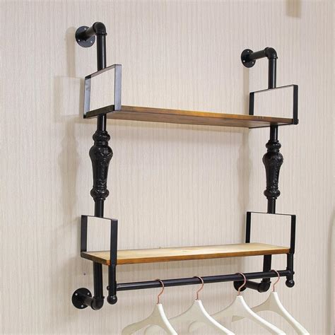 Wall Mounted Clothes Rack With Shelf by Aliexpress Buy Camry On A Wall Mounted Shelf