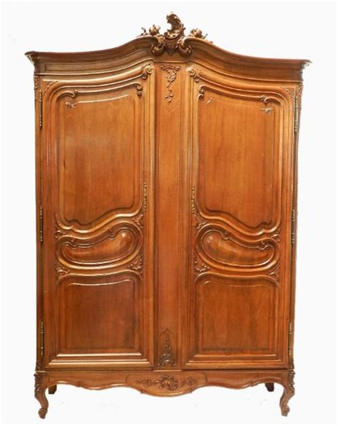 hanging wardrobe armoire good french armoire wardrobe deep for sideways hanging rail louis xv revival 232967