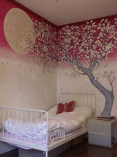 Baseball Murals For Walls very unique painting of a cherry blossom tree mural
