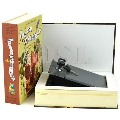 Safety Box Brankas Homesafe Booksafe Storage m holy bible homesafe real book safe key combination metal security money box uk ebay