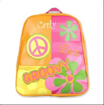 Backpack Groovy 10 personalized groovy peace go go backpack new