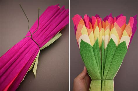 What To Make With Crepe Paper - colorful wedding diy project reception decor crepe paper