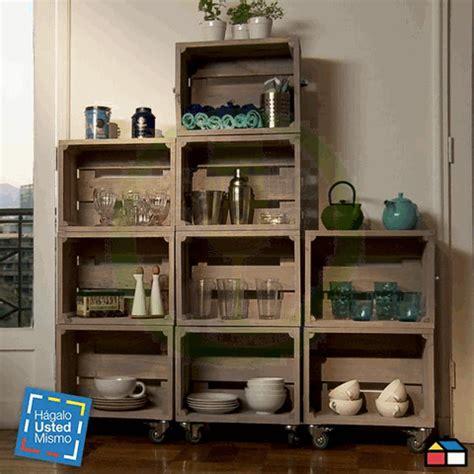 mueble con caja de frutas decoraci 243 n con cajas y palets montilla abierta
