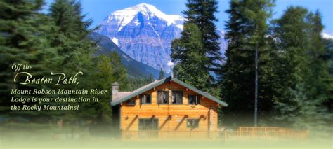 Mountain River Cabins by Mount Robson Inn Cabins At Mountain River Lodge Mount Robson Inn