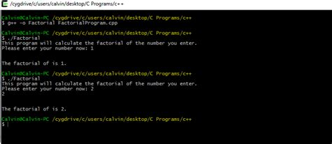 infinity factorial c c factorial program give infinity for any number