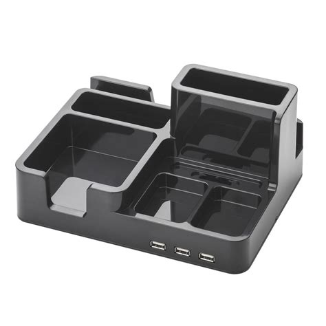 all in one desk organizer all in one desk organizer and docking station with 3 usb