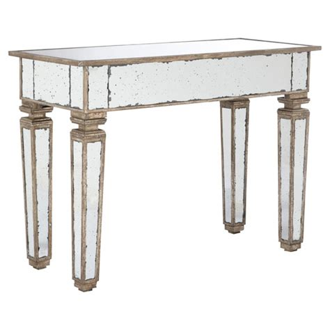 Mirror Console Table Versailles Mirrored Console Table Small Oka