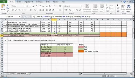 format fail microsoft excel 2007 grading using if function in excel 2007 microsoft excel