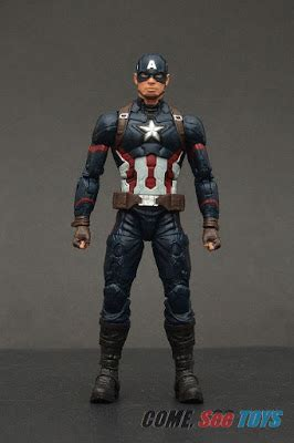 "come, see toys: marvel legends series 6"" captain america"