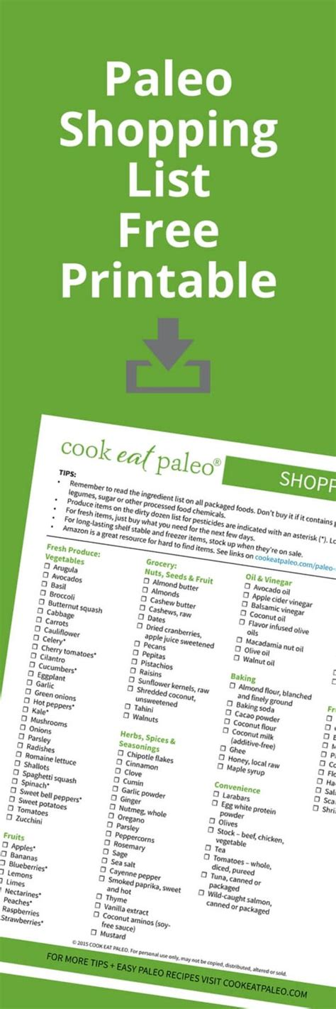 free printable grocery list paleo how to stock a paleo pantry shopping everything and pantry