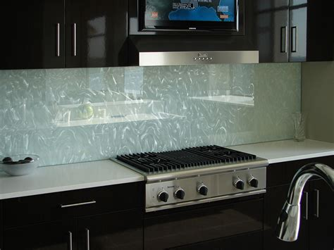 Frosted Glass Backsplash In Kitchen backsplashes elite glass services