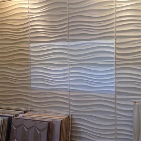 curtains for wall covering leather 3d textured wall covering pu material panels wave wall