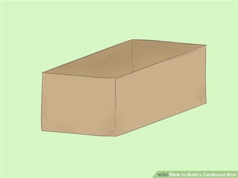 3 ways to build a cardboard boat wikihow - How To Make A Paper Cardboard Boat